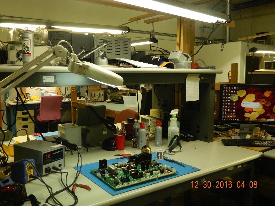 Repair Lab At New Shop Industrial Electronic Repair